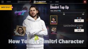 Dimitri Character In Free Fire